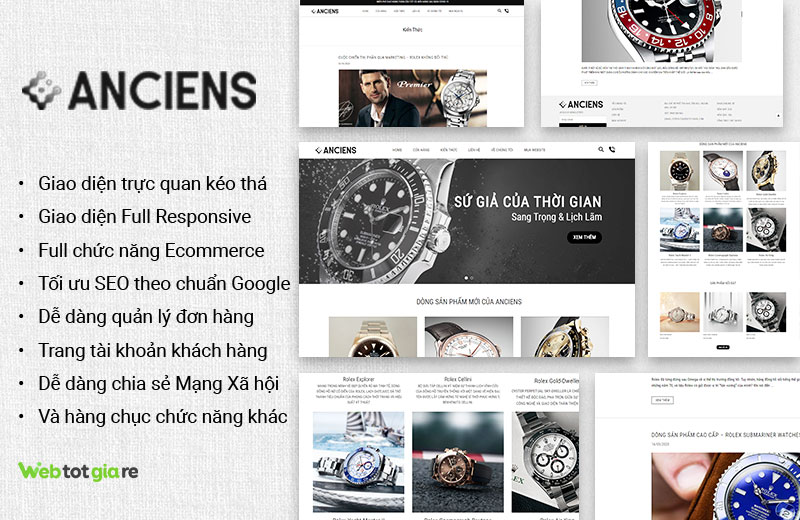 [B27] Anciens - Website đồng hồ 4